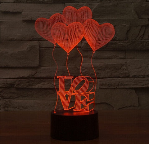 I LOVE YOU - LED Night Lamp