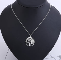 Tree of Life Gold / Silver Plated Necklace