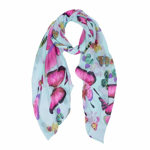Attractive Long Butterfly Scarf Wrap