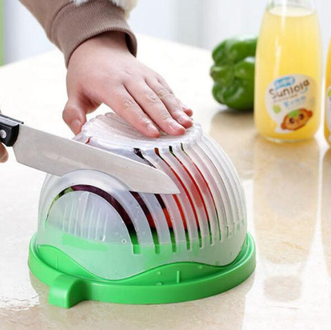 QuickCutter™ Salad/Fruit Cutter - 75% OFF TODAY