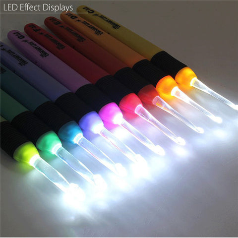 Light Up Crochet Needles