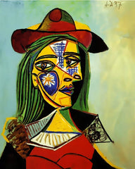 Picasso's Woman In Hat - Van-Go Paint-By-Number Kit