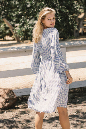 Les Femmes Colette Dress in Tangier