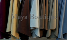 Gold Cape Ruana Wrap Coat Cashmere Wool Blend by Maya Boutique Made in USA