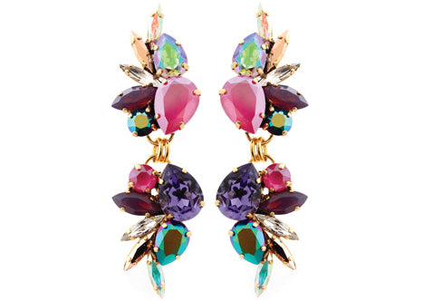 House of Emmanuele PEONY GARDEN earrings