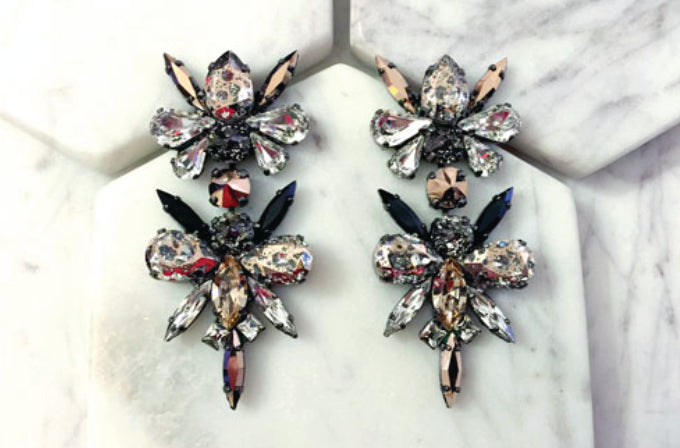 House of Emmanuele SAVAGE DRAGON FLY earrings