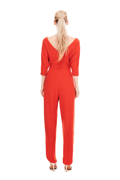 The Athenian Jumpsuit - Flame