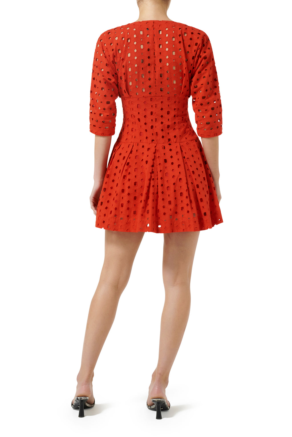 Pasadena Mini Dress - Blood Orange