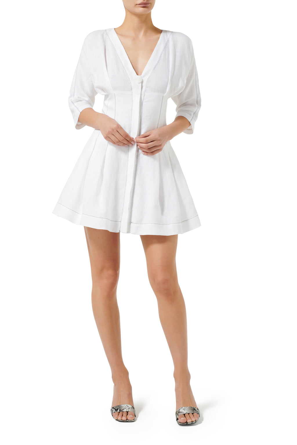 Pasadena Mini Dress - White