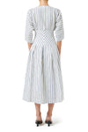 Pasadena Midi Dress- Sailor Stripe