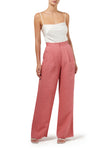 Ciara Wide Leg Pant - White