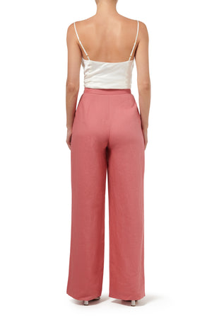 Anixi Wide Leg Pant - Peach