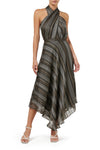 Calypso Midi Skirt - Stripe