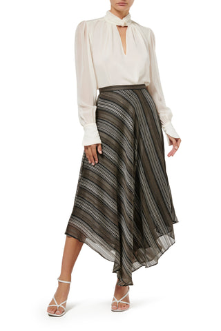 Calypso Maxi Dress - Stripe