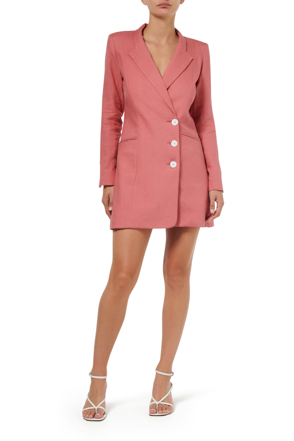 Freya Jacket Dress - Peach - SOLD OUT