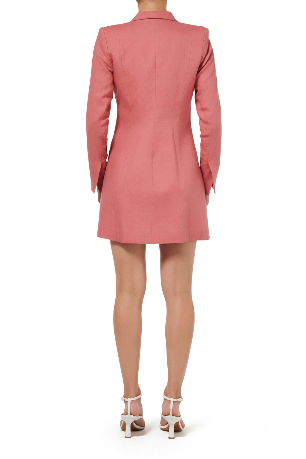 Freya Jacket Dress - Peach - PRE ORDER