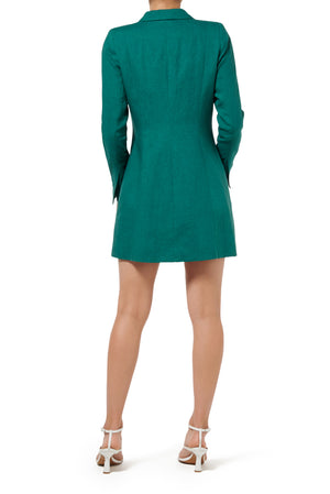 Freya Jacket Dress - Emerald - SOLD OUT