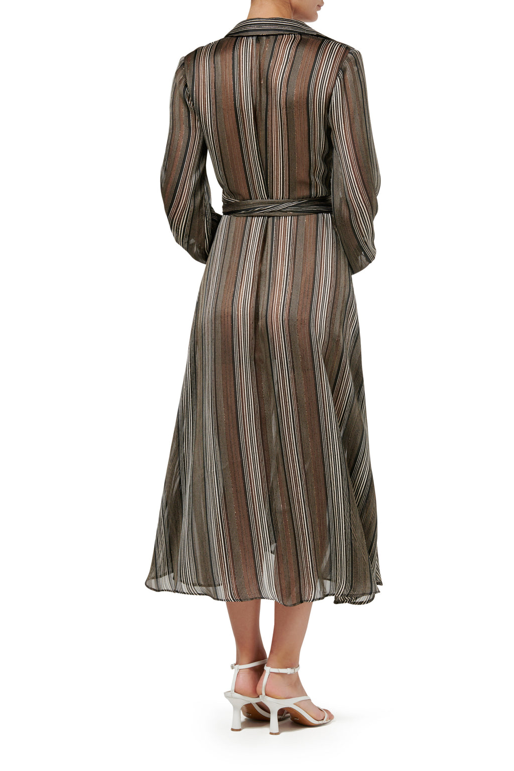 Calypso Shirt Dress - Stripe