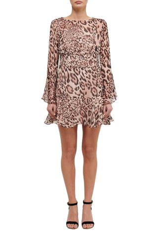 Wild at Heart Mini Dress - Black