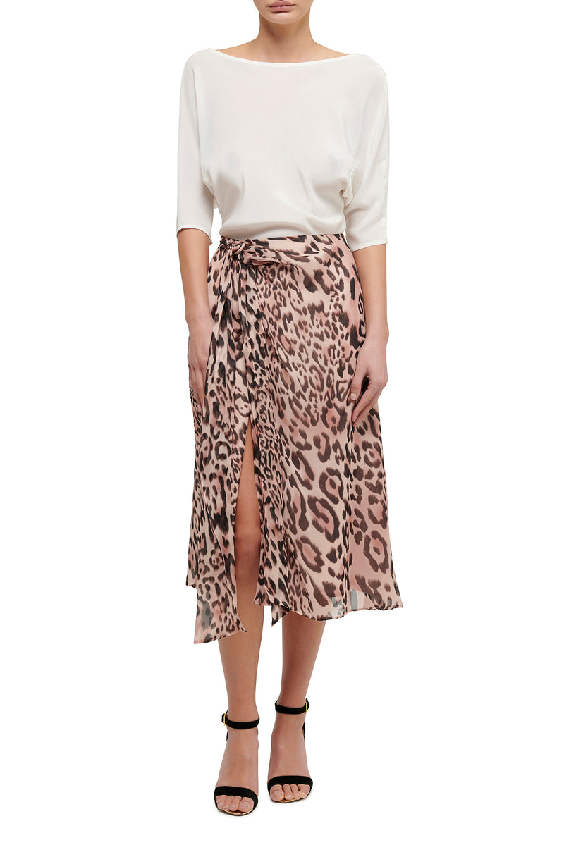 Wild at Heart Knot Skirt - Animal
