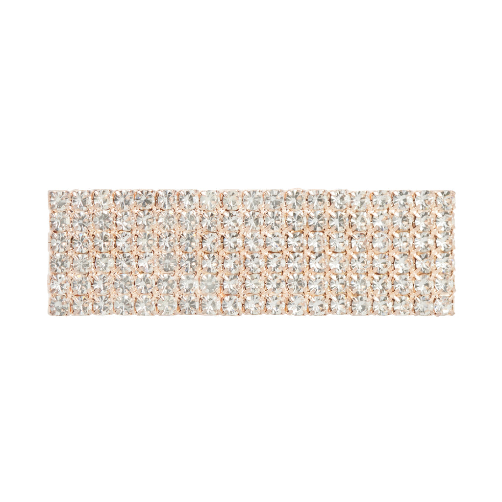 Large Diamonte Clip - GOLD