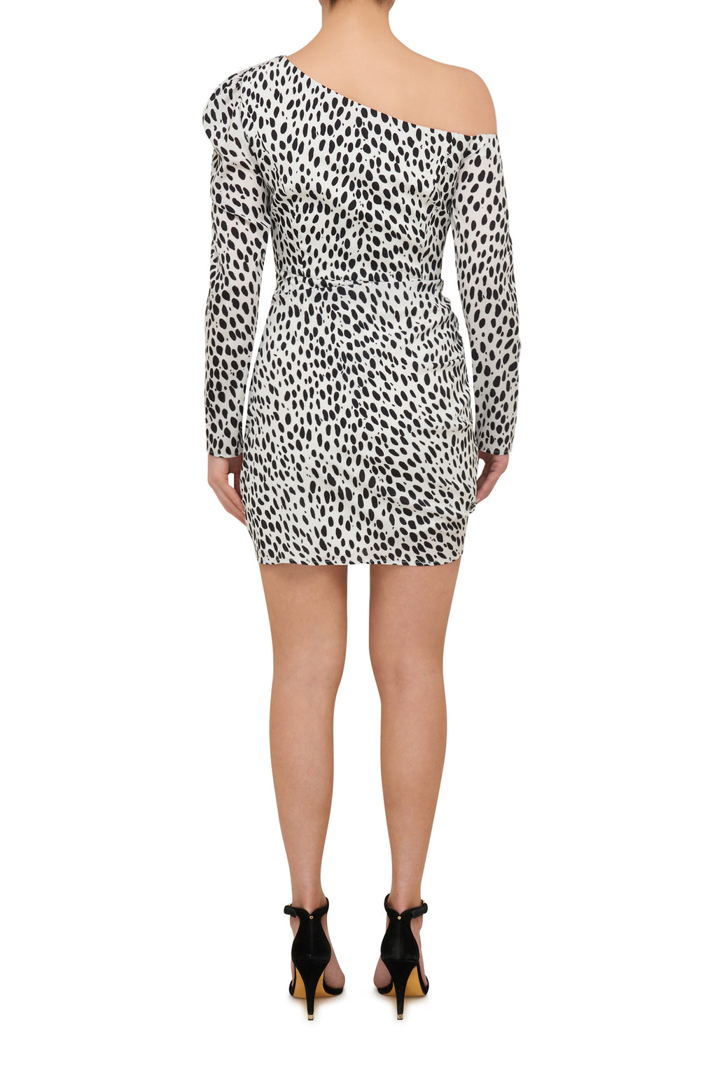 Running Wild Mini Dress - Dalmatian Spot