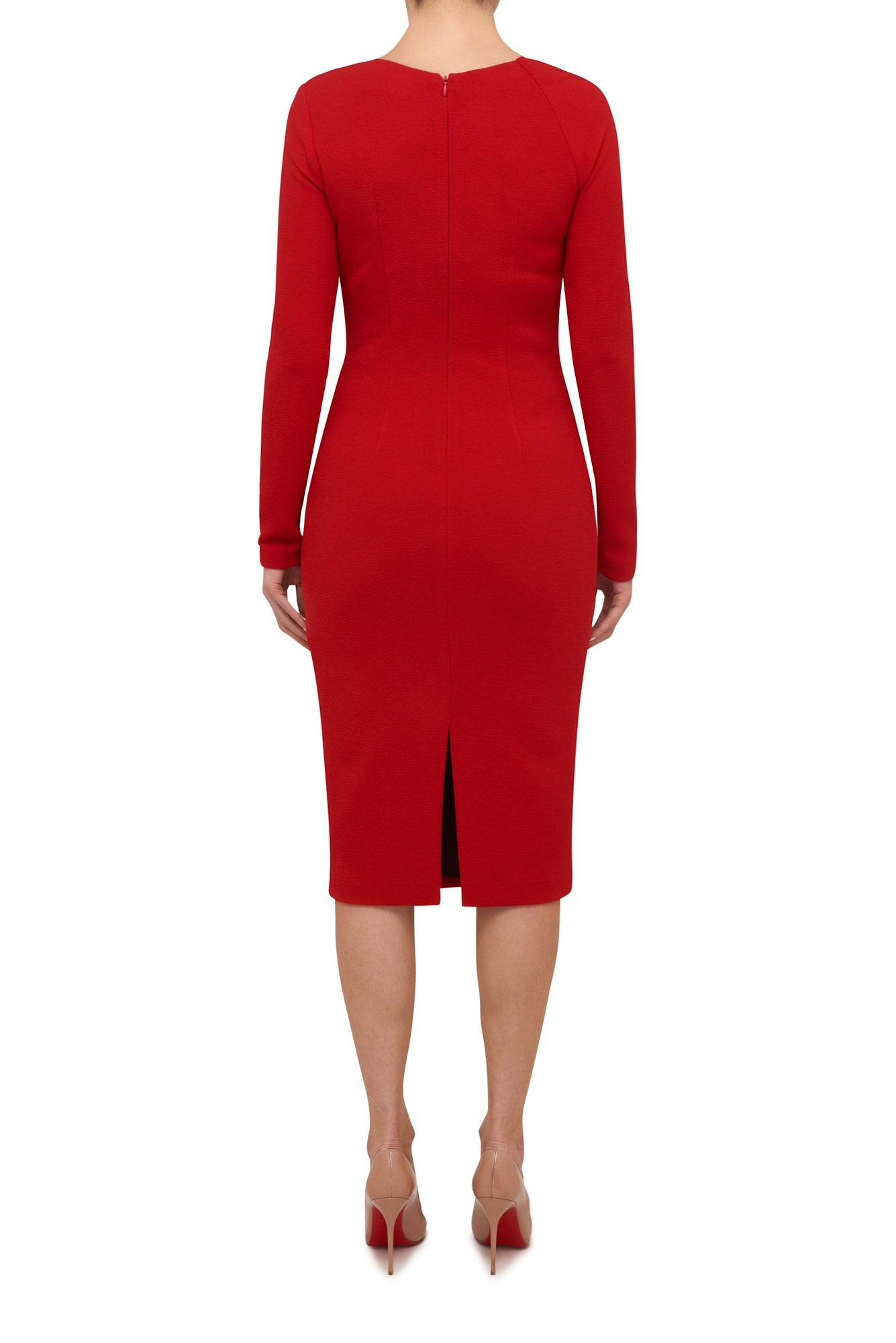 Demand Attention Midi Dress