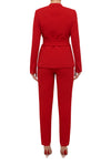 Demand Attention Pant - Flame Red