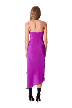 Mimi Slip Dress - Fuchsia