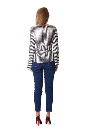 Kiki chevron top - Stripe