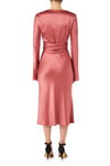 Desert Rose Wrap Dress - Rose