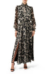 Kiki Split Front Dress - Leopard