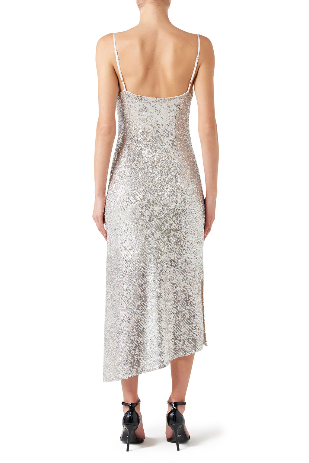 Mimi Slip Dress - Silver
