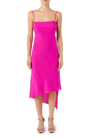 Mimi Slip Dress - Hot Pink