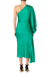 Attitude Knot Dress - Emerald Green