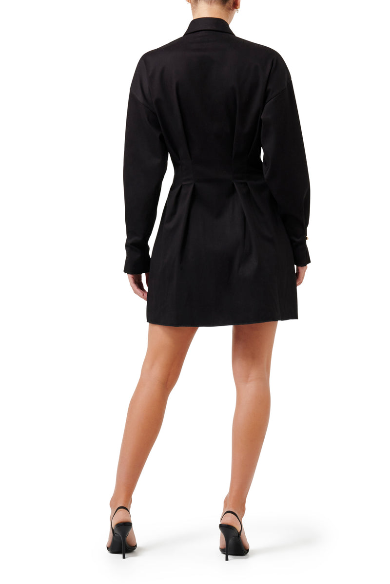 Rising Star Mini Dress - Black