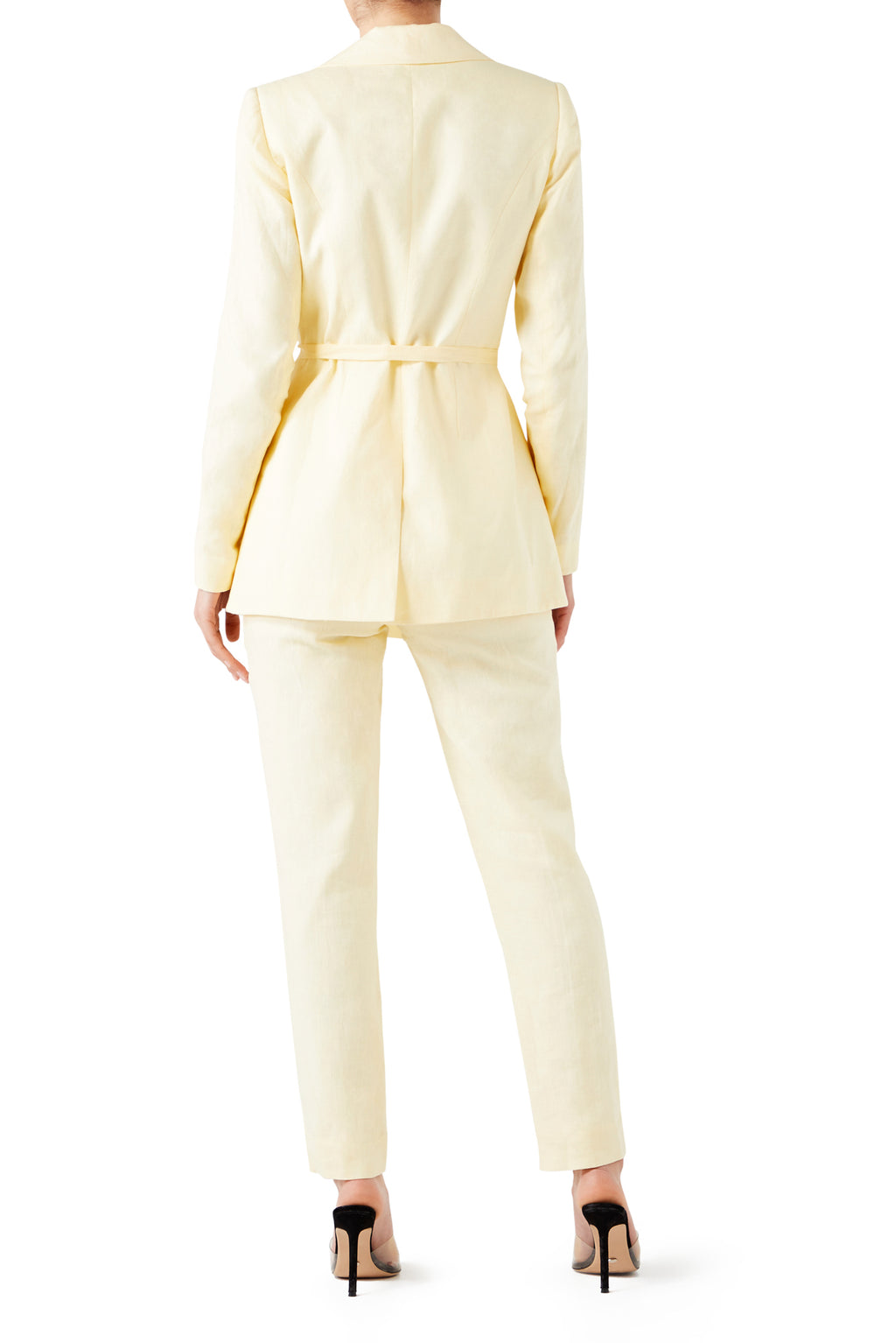 Harlem Asymmetric Jacket - Lemon