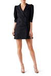 Phoenix Mini Dress - Black