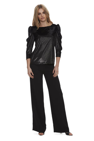 Queen of the Night Sparkle Velvet Top