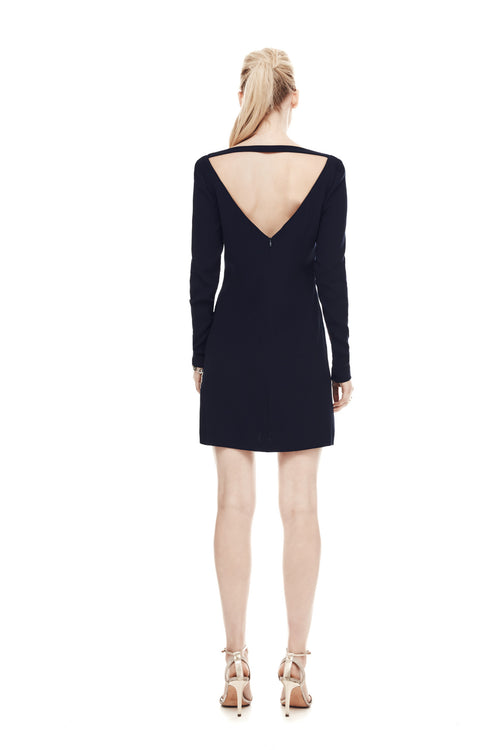 The Athenian Mini Dress - Navy