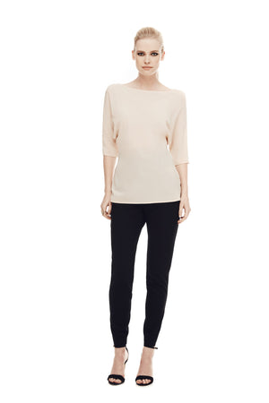 The Athenian Batwing Top - Blush