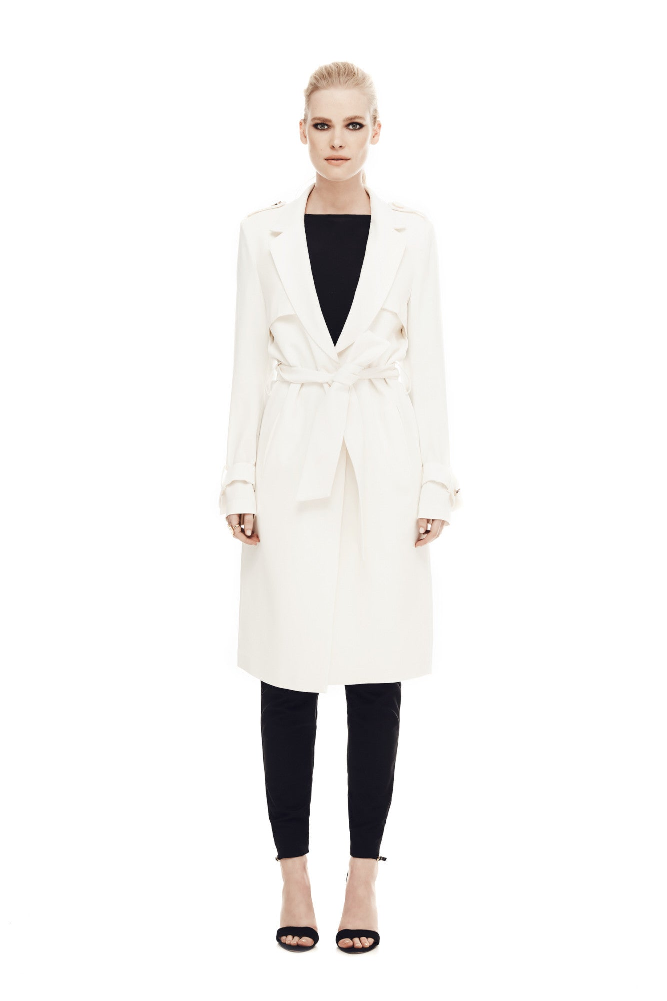 Key to the City Trench - Cream