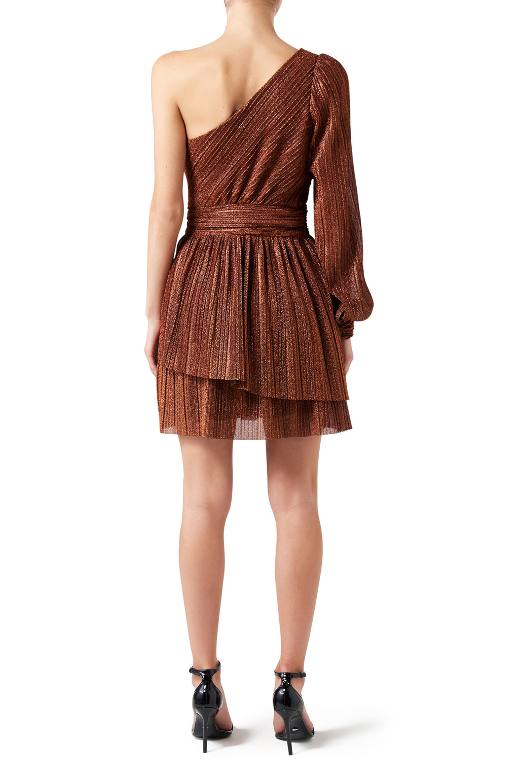 Aphrodite Mini Dress - Rust