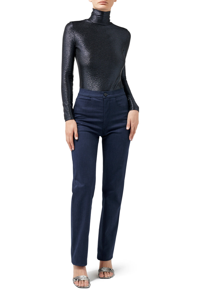 Selene Turtle Neck - Midnight