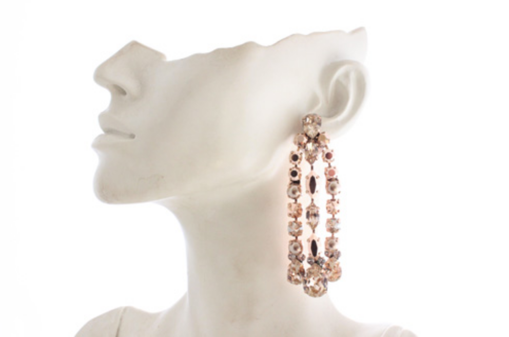 House Of Emmanuele Rose Gold Estelle Rose