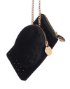 Lola Black Long Tassel Bag