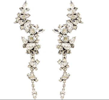 House of Emmanuele Celeste Earrings