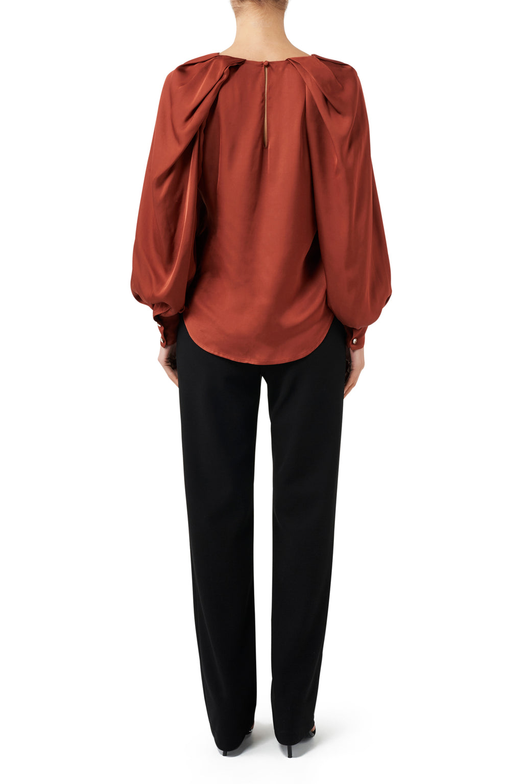 Ruby Blouse - Cinnamon