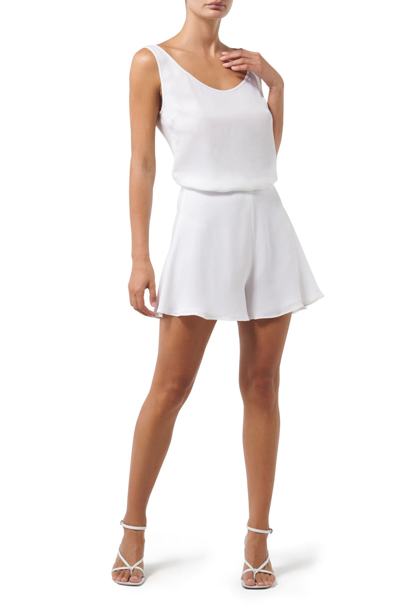 Easy Elegance Silk Short - Ivory