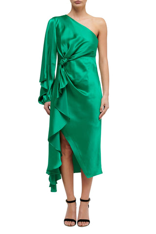 Freya Jacket Dress - Emerald - PRE ORDER